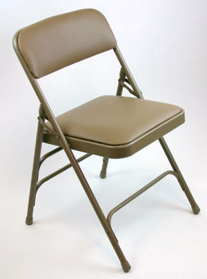 Wholesale Steel Folding Chairs Vinyl Padded Strong