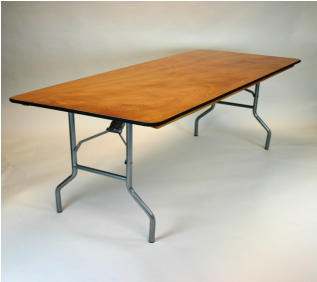 "30"" x 72"" folding table, blow mold heavy duty"